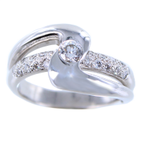 Bague Or Blanc Melis