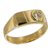 Bague Or Jaune Cyprie