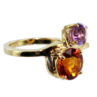 Bague Serti griffe Lolly - Image 2