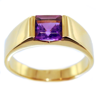 Bague Or Rose Serti clos Carenne