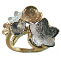 Bague Or Bicolore Blossom
