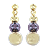 Boucles d'oreilles Or Jaune Pretty