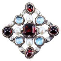 Broche Charles VI Argent
