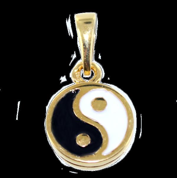 pendentif yin yang or