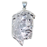 Pendentif Argent Christ - Taille 5