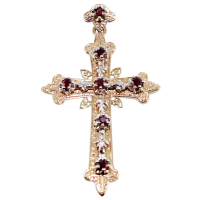 Croix Arlésienne - Taille 3 Or Bicolore