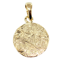 Médaille Triskell - Taille 1 Or Jaune
