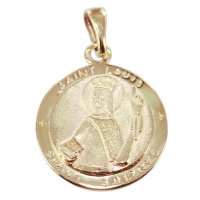 Médaille Or Jaune Saint Louis