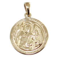 Médaille Or Jaune Saint Michel