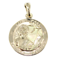 Médaille Or Jaune Saint Paul