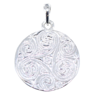 Médaille Triskell - Taille 2 Argent