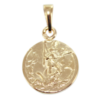 Médaille Or Jaune Saint Michel Archange