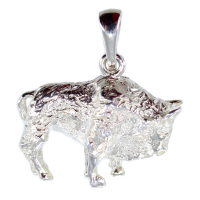 Pendentif Bison - Taille 2 - Image 2