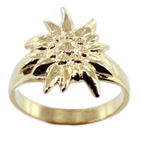 Bague Or Jaune Edelweiss