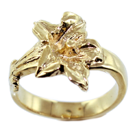 Bague Or Jaune Gentiane