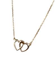 Collier Double coeur - Image 2