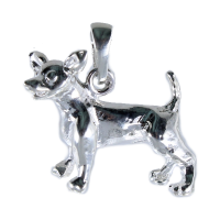 Pendentif Argent Chihuahua