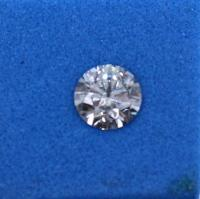 Diamant Taille Brillant 5.00mm 0.50 carat HSI2 - Image 4