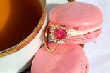 Eclats de sucre - Bague Thilna Or jaune Tourmaline rose Diamants