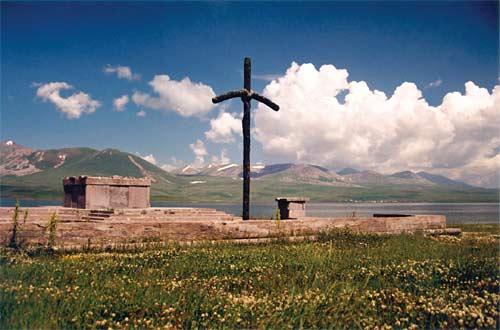 croix georgienne de sainte Nina